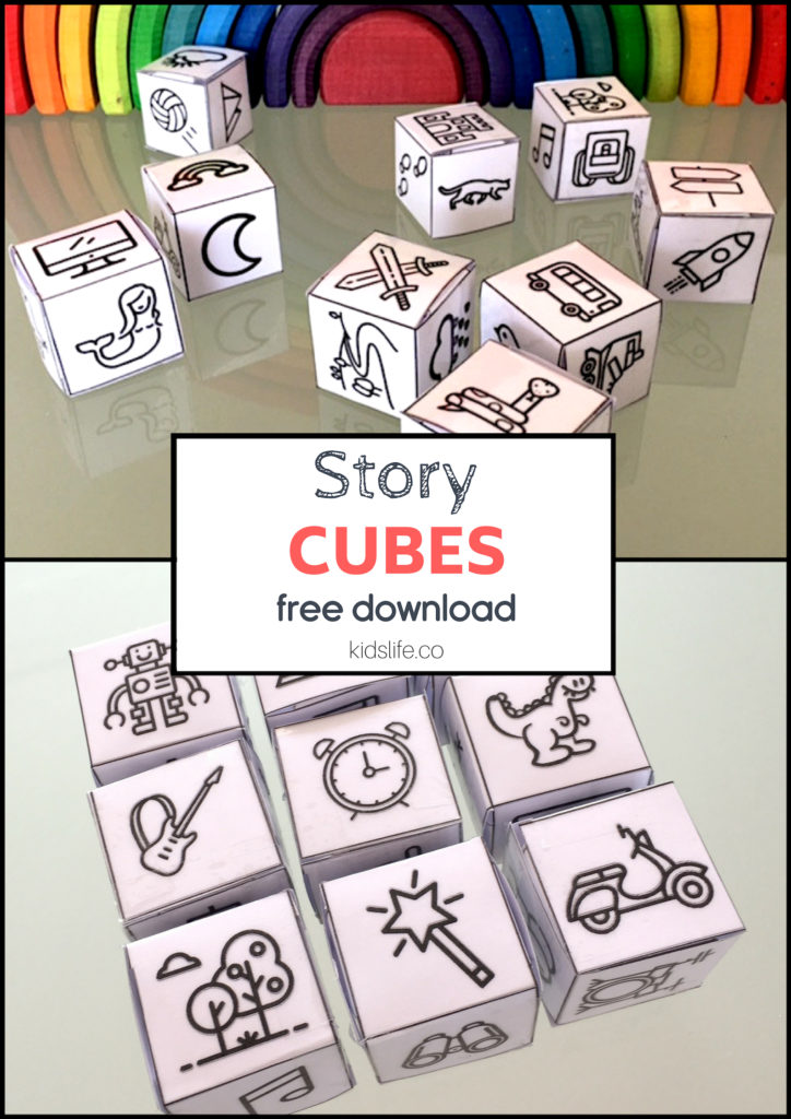 Story Cubes Printable