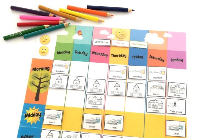 free weekly planner for kids to print