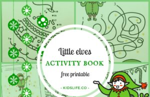 little elves printable