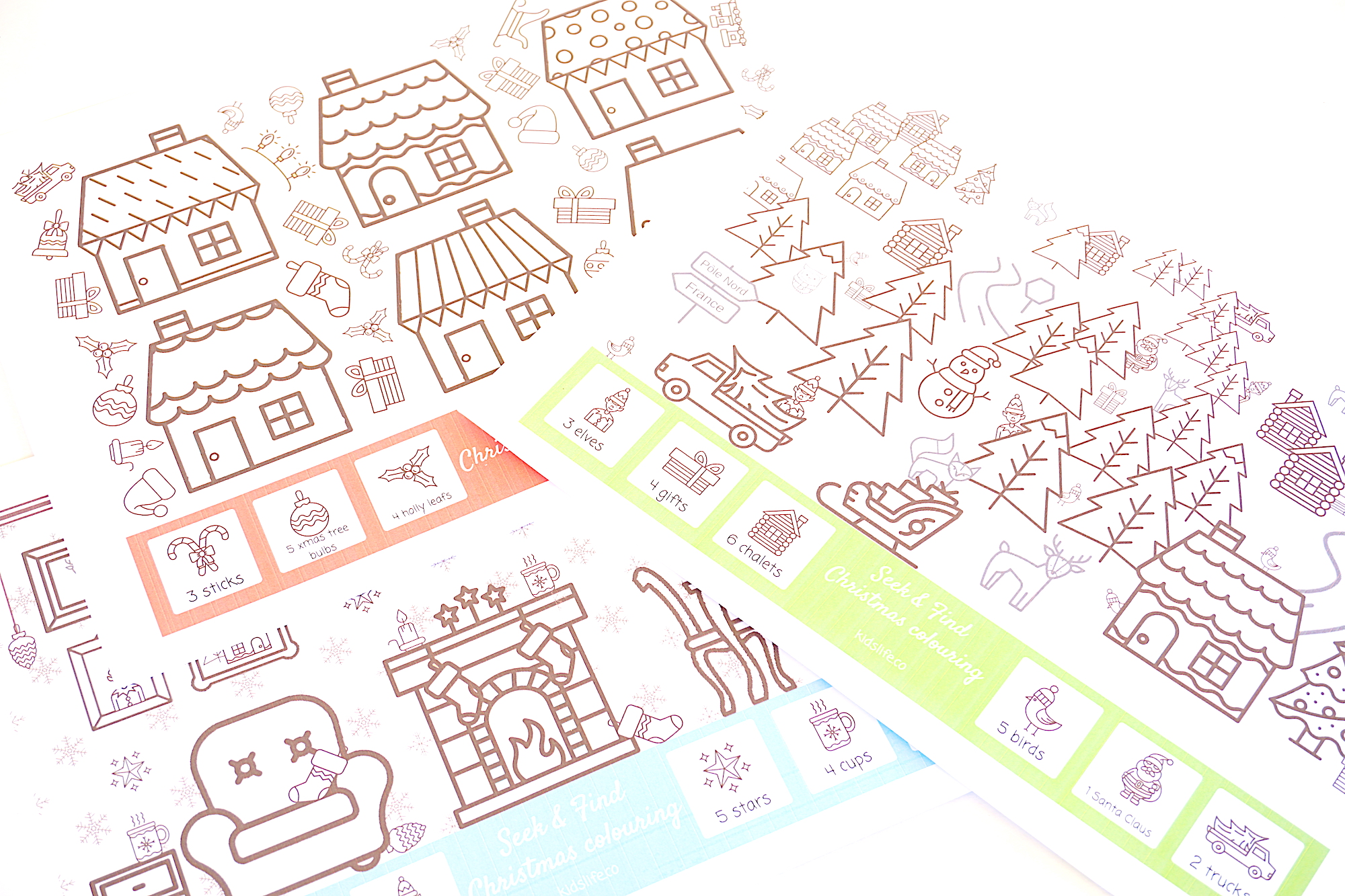 image about Seek and Find Printable identify Search for and discover, your Xmas colouring printable for absolutely free
